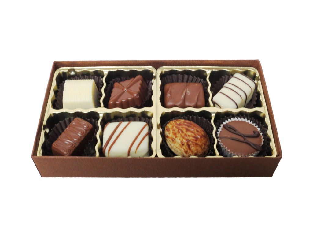Image result for pictures of open chocolate boxes