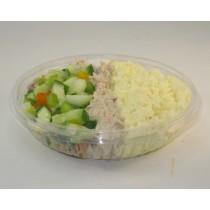 Tuna, Eggs & Isrealy Salad